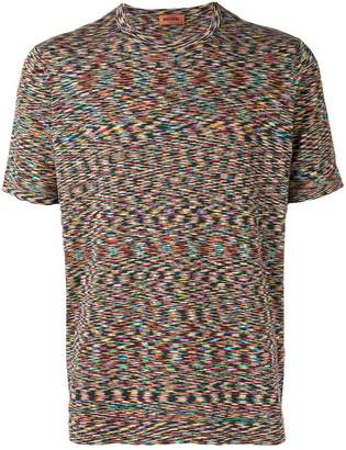 Missoni short-sleeve knitted T-shirt