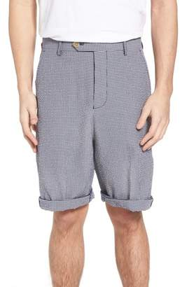 French Connection Stretch Seersucker Shorts