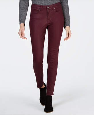 Style&Co. Style & Co Coated Ultra-Skinny Jeans