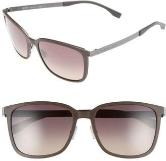 BOSS 56mm Retro Sunglasses