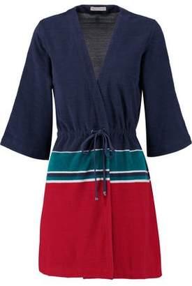 Orlebar Brown Betty Striped Cotton Robe