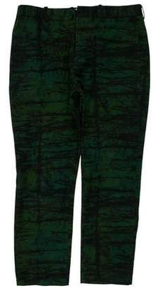 Marni Cropped Printed Pants
