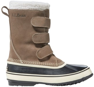 L.L. Bean L.L.Bean LLBean Snow Boot Hook and Loop Suede Men's
