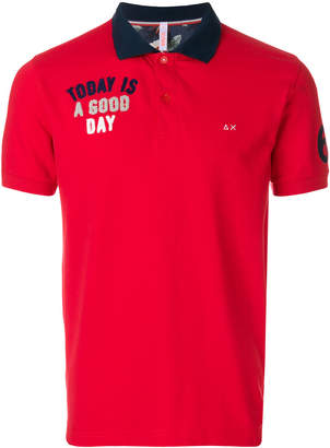 Sun 68 good day polo shirt