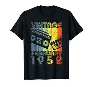 February 1952 Vintage 67th Birthday Gifts T-shirt Decoration