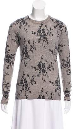 Equipment Lace Print Sweater
