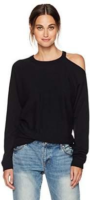 Minnie Rose Women's Cut It Out Sweater