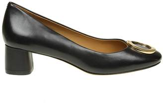 Tory Burch caterina Ballerina In Black Leather