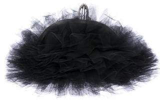 Christian Louboutin Tulle Frame Evening Bag
