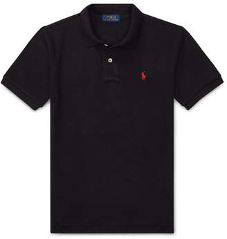 Ralph Lauren Childrenswear Short-Sleeve Logo Embroidery Polo Shirt, Size S-XL
