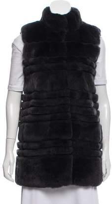 Diane von Furstenberg Colby Fur Vest