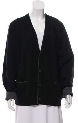 Michael Kors Knit V-Neck Cardigan