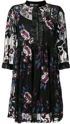 Liu Jo embroidered floral dress