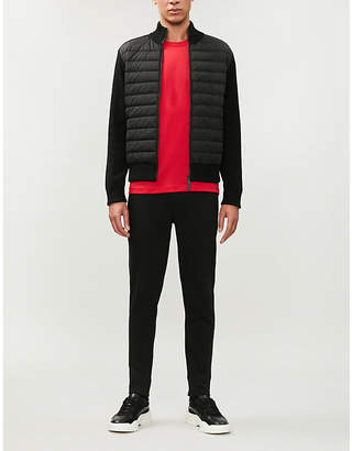 Canada Goose Hybridge shell-down and wool jacket
