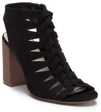 Fergalicious Pardon Block Heel Sandal