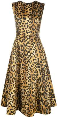 ADAM by Adam Lippes leopard print dress