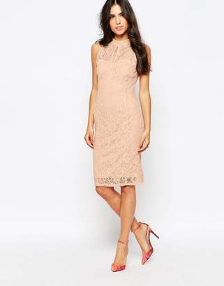 Jessica Wright Lace Midi Dress