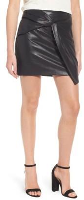 Women's Ella Moss Faux Leather Miniskirt $158 thestylecure.com