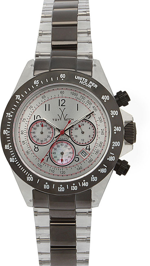 TOYWATCH 'Crystal & Metal Collection' Chronograph Watch