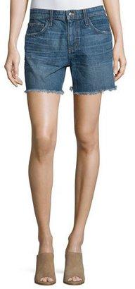Joe's Jeans The Ex-Lover Raw-Hem Denim Shorts, Antonia $145 thestylecure.com