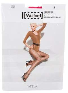 Wolford Adelia Fishnet Tights w/ Tags