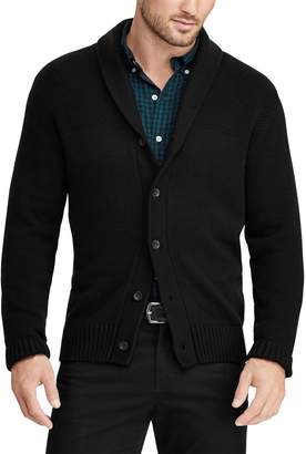 Chaps Big & Tall Regular-Fit Shawl-Collar Cardigan Sweater