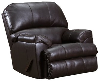 Acme Phygia Recliner In Tan Top Grain Leather Match