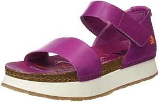 Art 1260 Mojave Mykonos, Women's Open Toe Platform Sandals, Pink (Magenta), (37 EU)