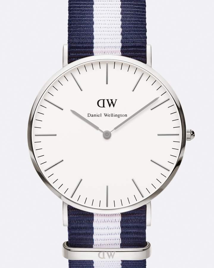 Daniel Wellington Classic Glasgow Silver 40mm