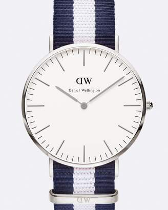 Daniel Wellington Classic Glasgow Silver 40mm