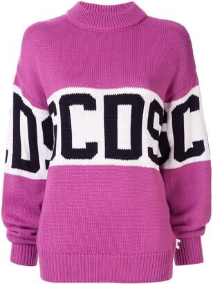 GCDS logo knitted jumper