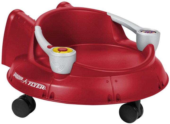 Radio Flyer Spin 'N Saucer with Lights & Sounds