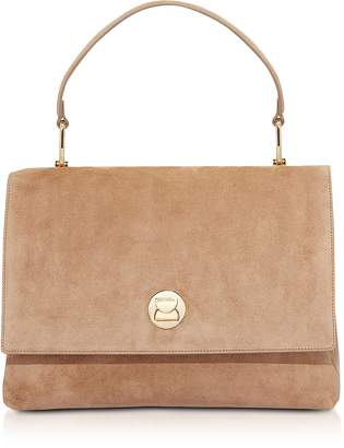Coccinelle Big Liya Suede Shoulder Bag