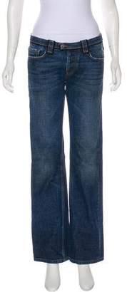 Prada Low-Rise Wide-Leg Jeans