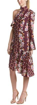 Parker Rine Silk Midi Dress