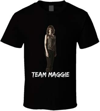 Ralph Lauren Trendy Tees Team Maggie Walking Dead T Shirt Novelty Cohan Fashion Glam Tee Gift New L