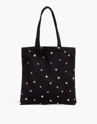 Madewell The Reusable Canvas Tote: Star Edition