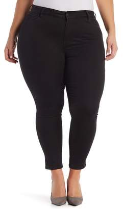 Joe Fresh Mid Rise Slim Jeggings (Plus Size)