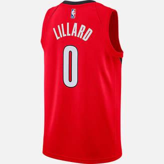 Nike Men's Portland Trail Blazers NBA Damian Lillard Earned Edition Swingman Jersey