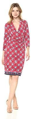 Max Studio Women's Printed Matte Jersey Dress