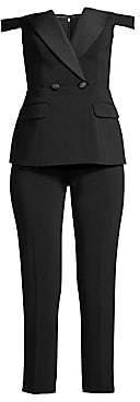 Jay Godfrey Women's Gwen Tuxedo Jumpsuit