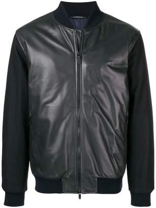 Ermenegildo Zegna causal bomber jacket
