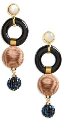 Lizzie Fortunato Loop Chain Earrings