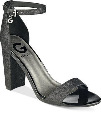 G by GUESS Shantel Two-Piece Sandals $39 thestylecure.com