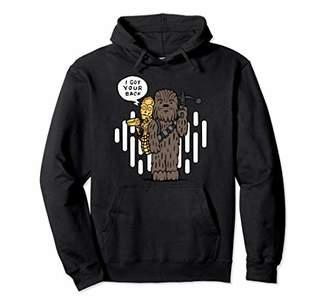 Star Wars Chewie C-3PO Cartoon Got Your Back Graphic Hoodie