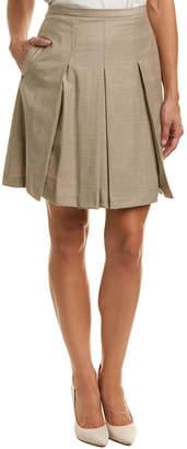 Max Mara Wool-Blend A-Line Skirt