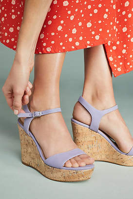 Anthropologie Platform Wedge Sandals