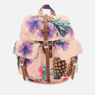 Herschel Men's Dawson Extra Small Backpack - Peach Pineapple/Tan