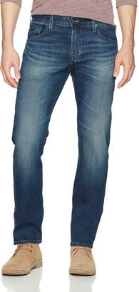 AG Adriano Goldschmied Men's Matchbox Slim Straight Leg LED Denim