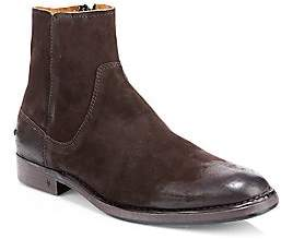 969a4a88413 John Varvatos Men s Suede Zip Ankle Boots